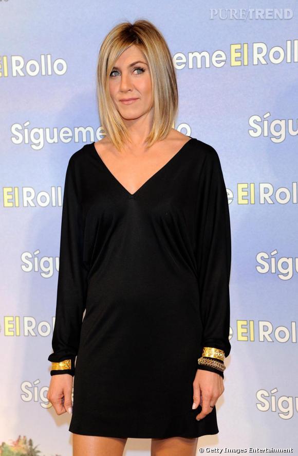 Jennifer Aniston à l'avant-première du film Just Go With It, à Madrid.