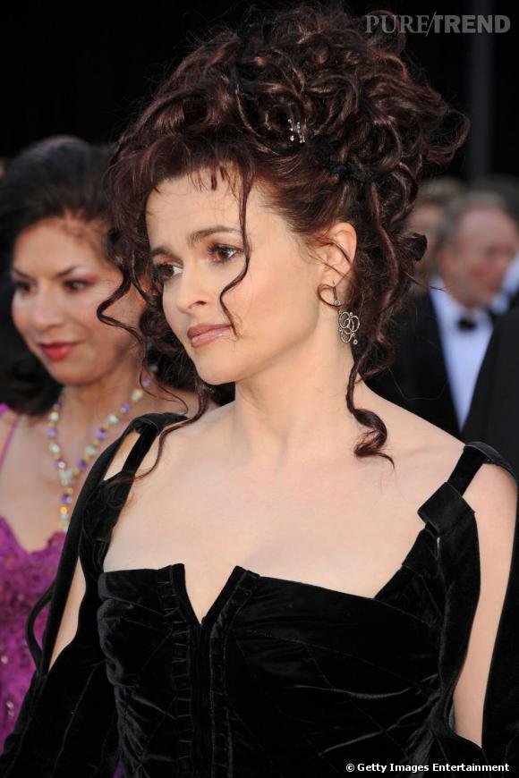 Helena Bonham Carter invitée à la 83e cérémonie des Oscars.