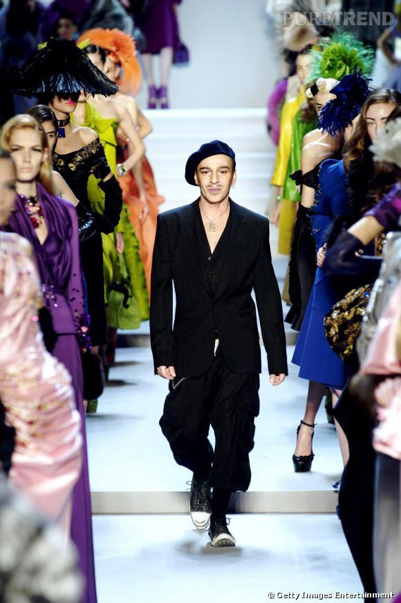 Défilé Christian Dior, automne-hiver 2008.