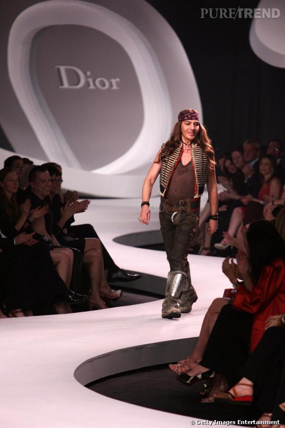 Défilé Christian Dior, collection Croisière 2007.