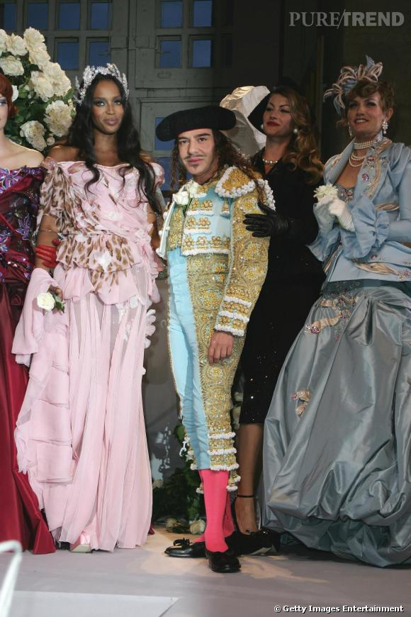 Défilé Christian Dior Haute Couture, automne-hiver 2007.
