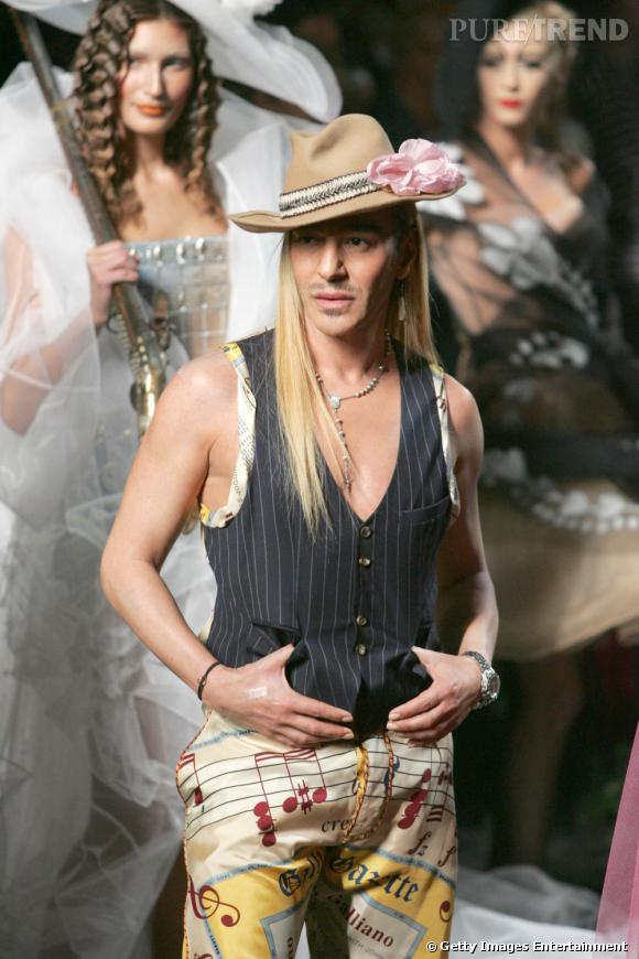 Défilé Christian Dior Haute Couture, automne-hiver 2005/2006.