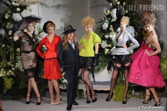 Défilé Christian Dior Haute Couture, automne-hiver 2009.