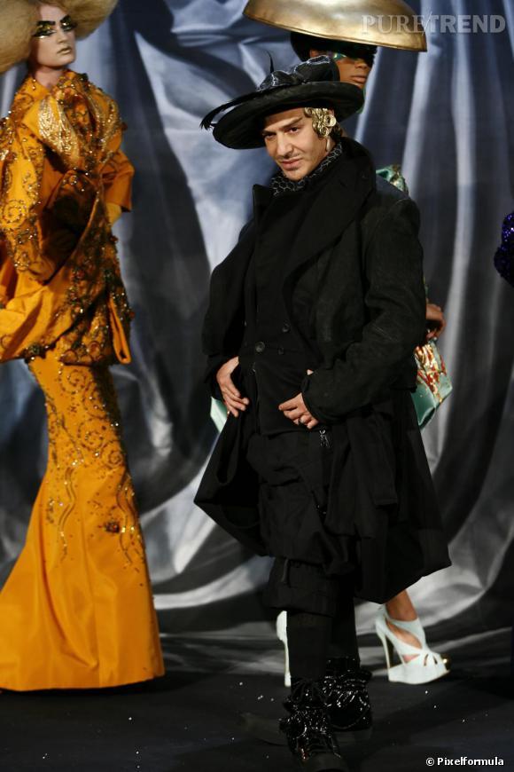Défilé Christian Dior Haute Couture, printemps-été 2008.
