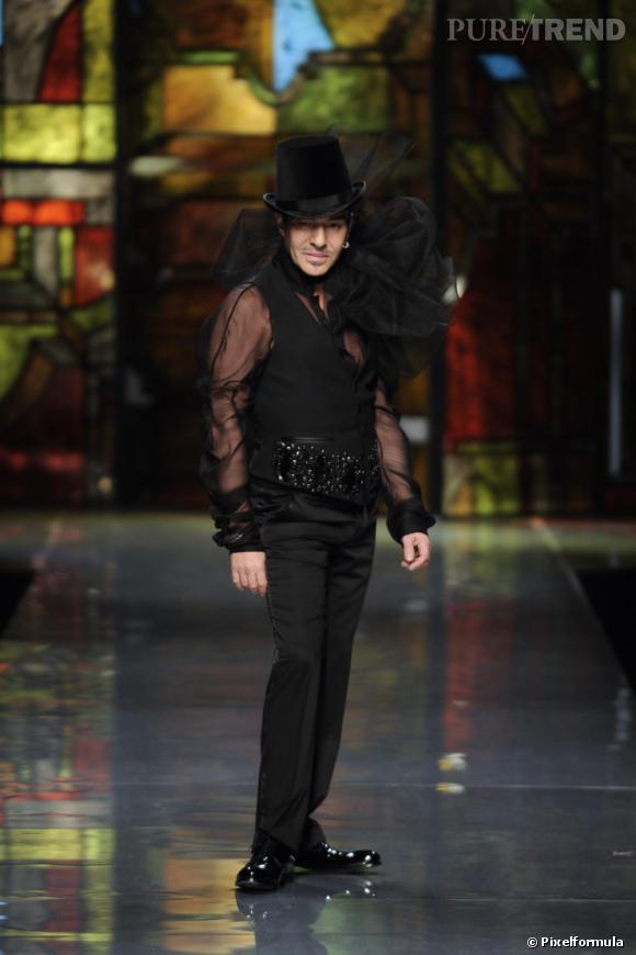 Défilé Christian Dior Haute Couture, printemps-été 2009.