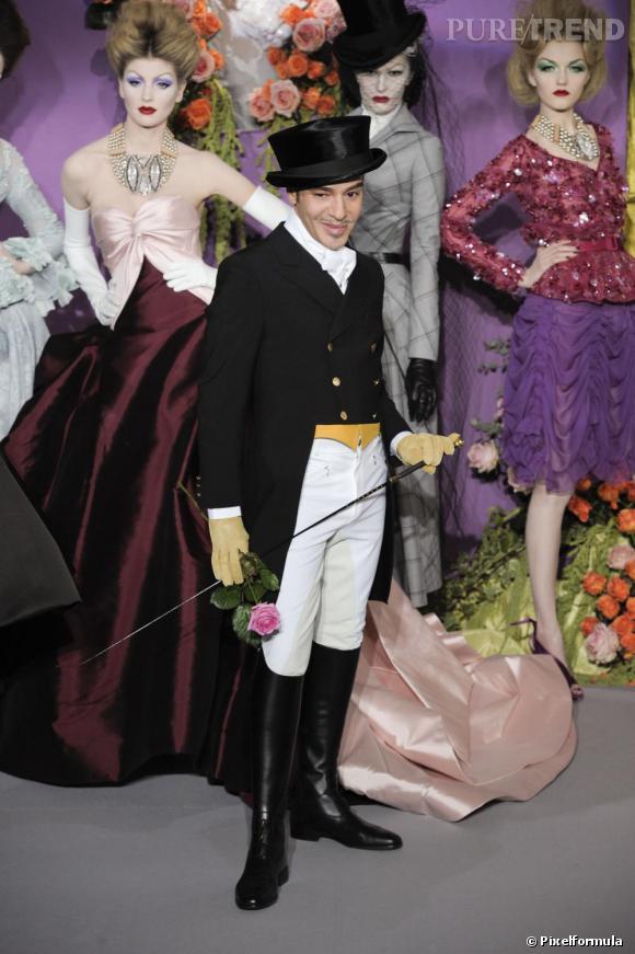 Défilé Christian Dior Haute Couture, printemps-été 2010.