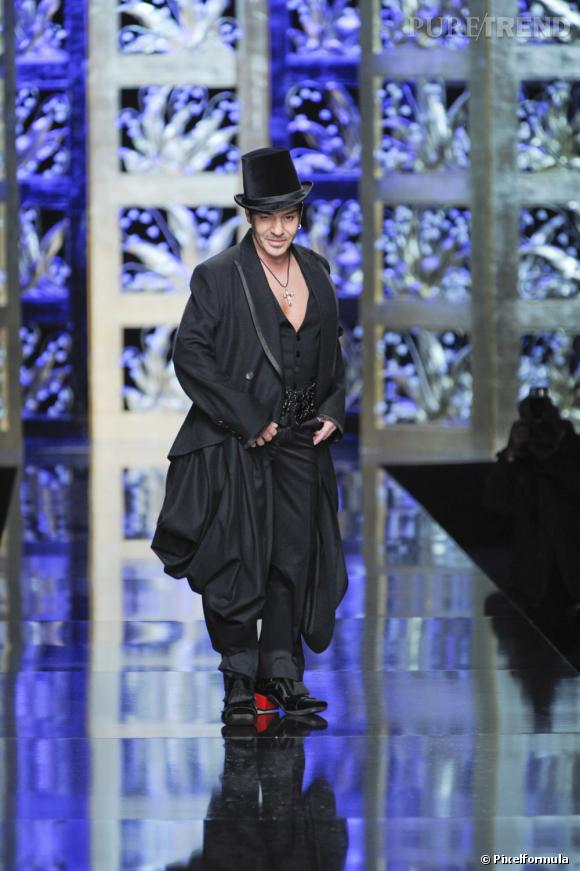 Défilé Christian Dior, automne-hiver 2009/2010.