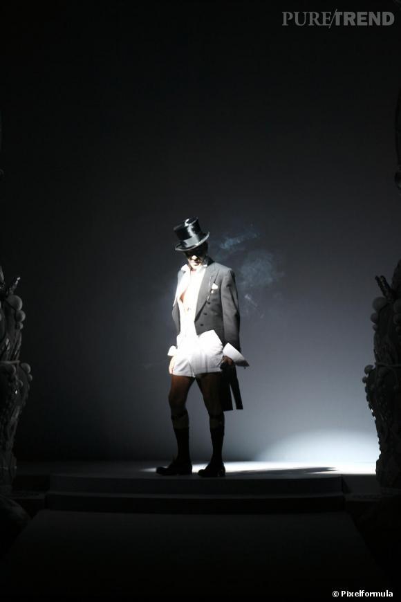 Défilé Christian Dior, printemps-été 2008.