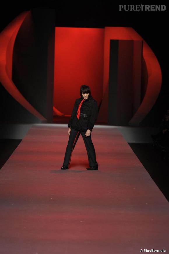 Défilé Christian Dior Haute Couture, printemps-été 2011.