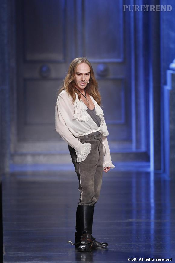 Défilé Christian Dior, automne-hiver 2010/2011.