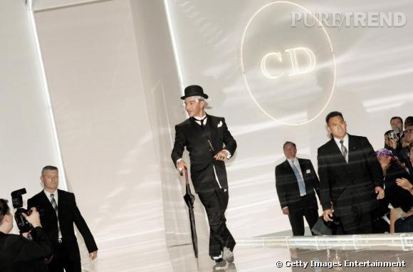 Défilé Christian Dior, printemps-été 2005.
