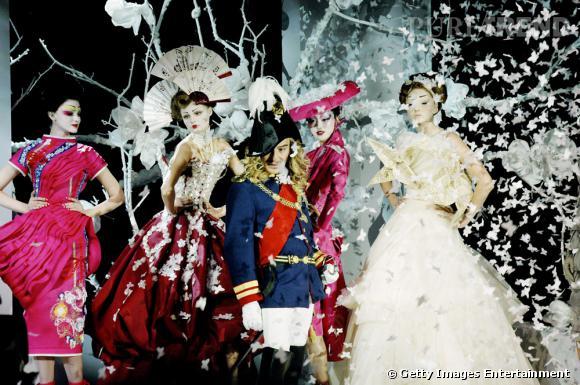Défilé Christian Dior, Haute Couture printemps-été 2007.