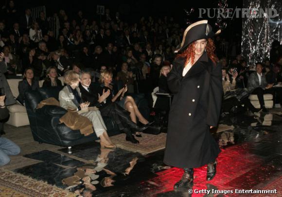 Défilé Christian Dior, Haute Couture printemps-été 2005.