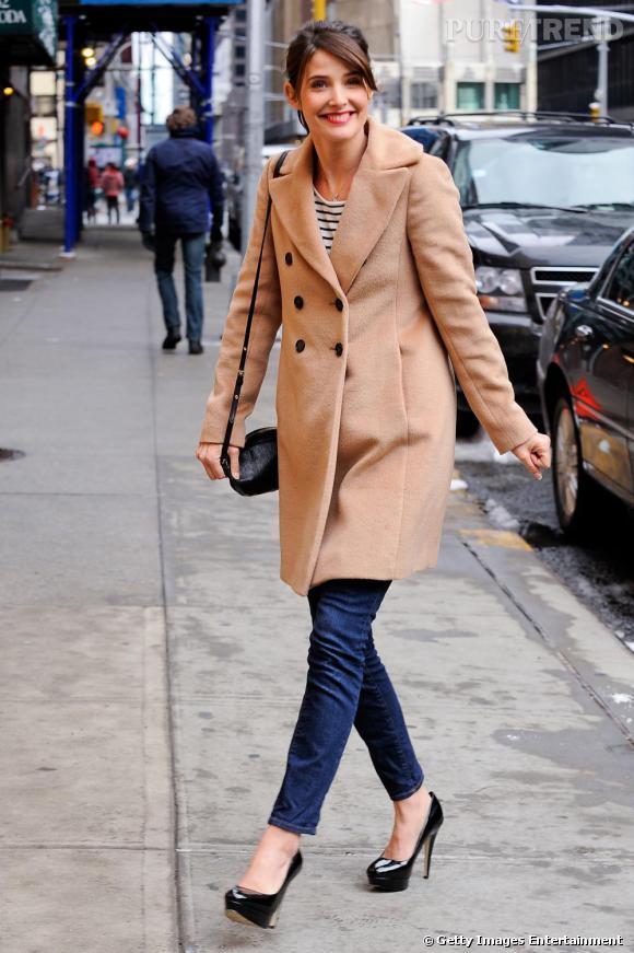 Cobie Smulders, son look à tous prix.