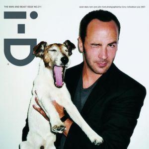Tom Ford présente son chien au magazine I-D. On l'aime déjà.