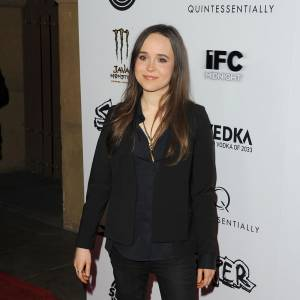 "Ellen Page ou le ""no look"" total."