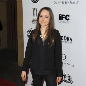 """Ellen Page ou le """"no look"""" total."""