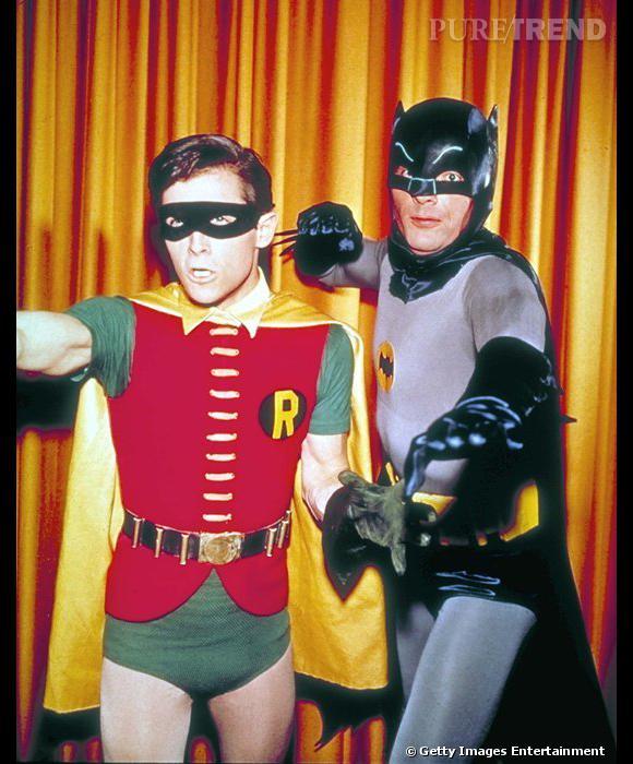 Batman et robin version 1966 dans la s rie batman de - Image de batman et robin ...