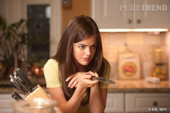 """Peut-être pas si innocente que ça la, jolie brunette de """"Pretty Little Liars"""" ?"""