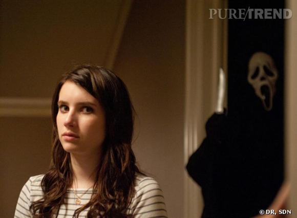 Emma Roberts qui interprête le rôle de Jill Roberts prendra-t-elle la relève de sa cousine Sidney Prescott dans cette trilogie ?