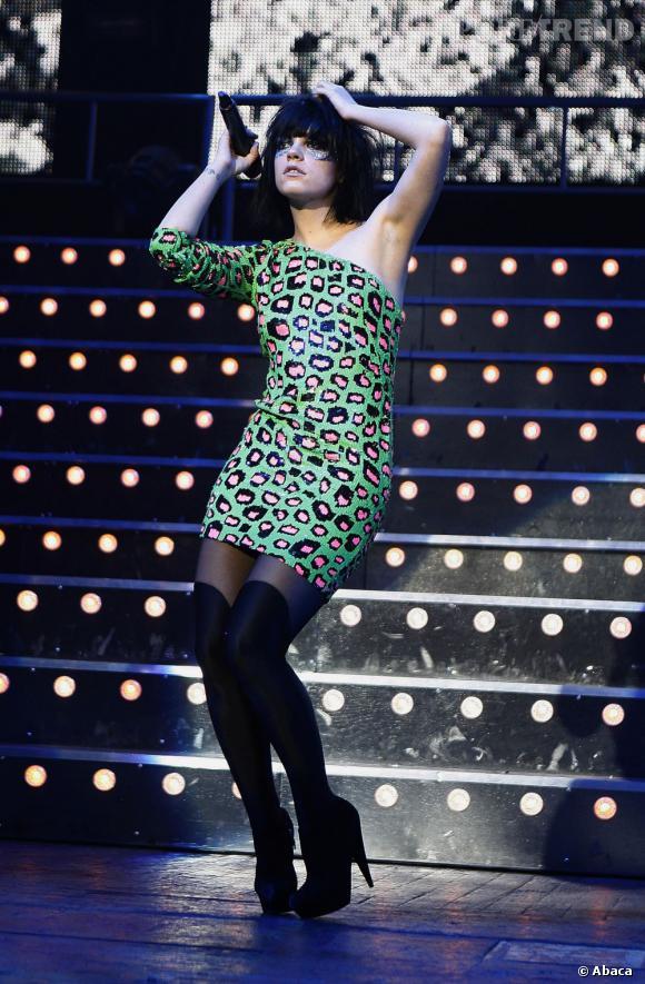 Lily Allen la plus fashionista de toutes.