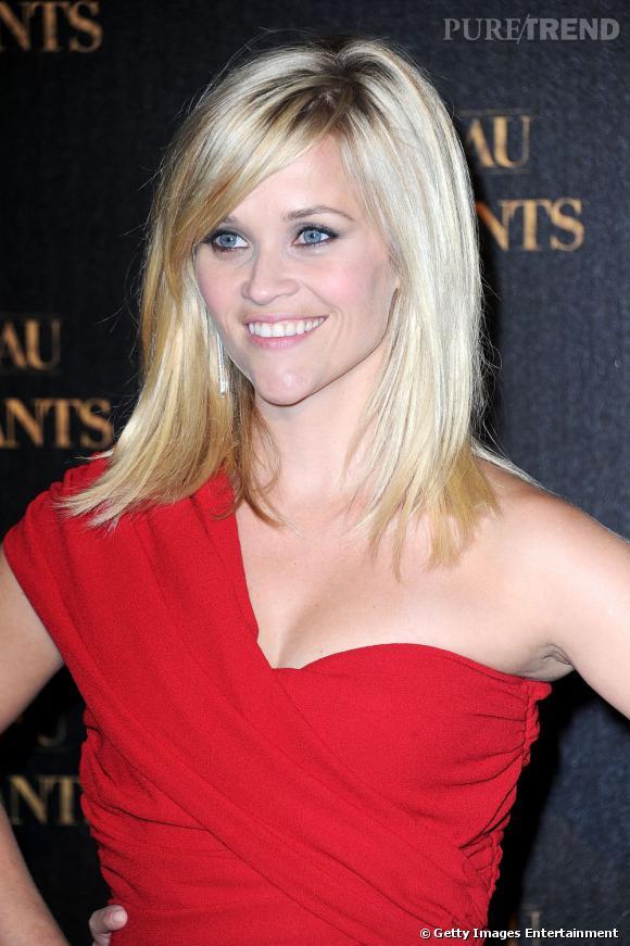 """Reese Witherspoon à l'avant-première du flm """"De l'eau pour les éléphants"""", à Paris."""