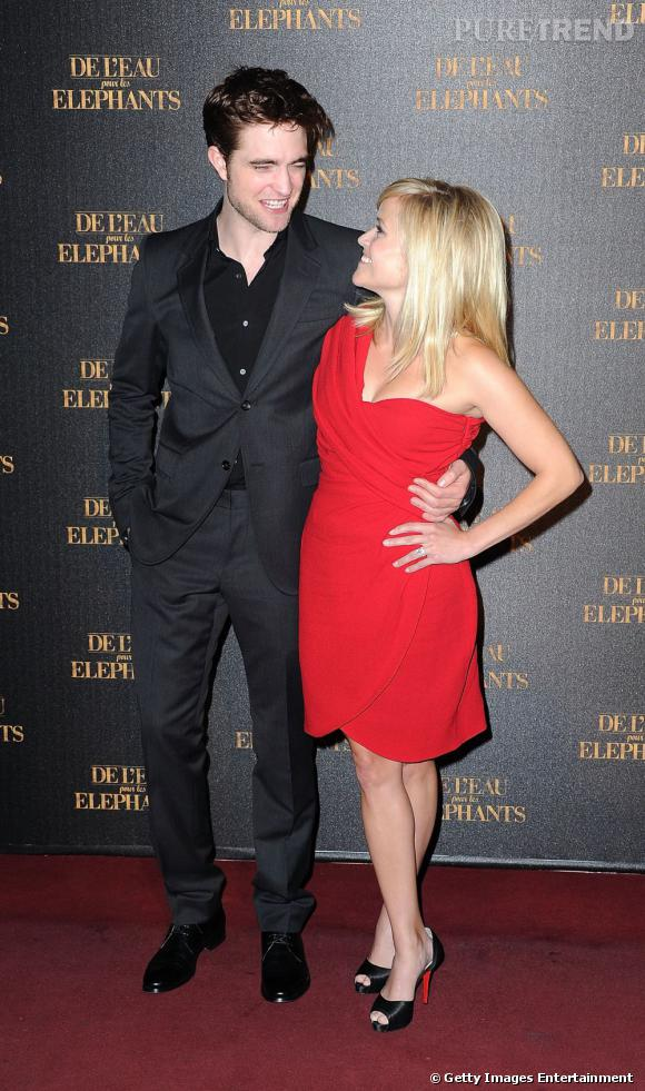 Reese Witherspoon et Robert Pattinson.