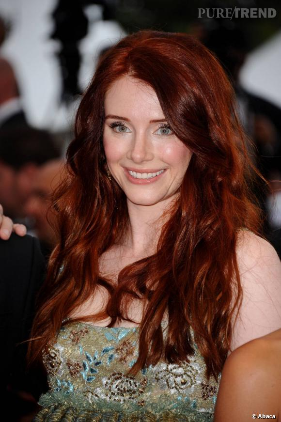 "Bryce Dallas Howard sur le tapis rouge de ""Restless"" au Festival de Cannes 2011."