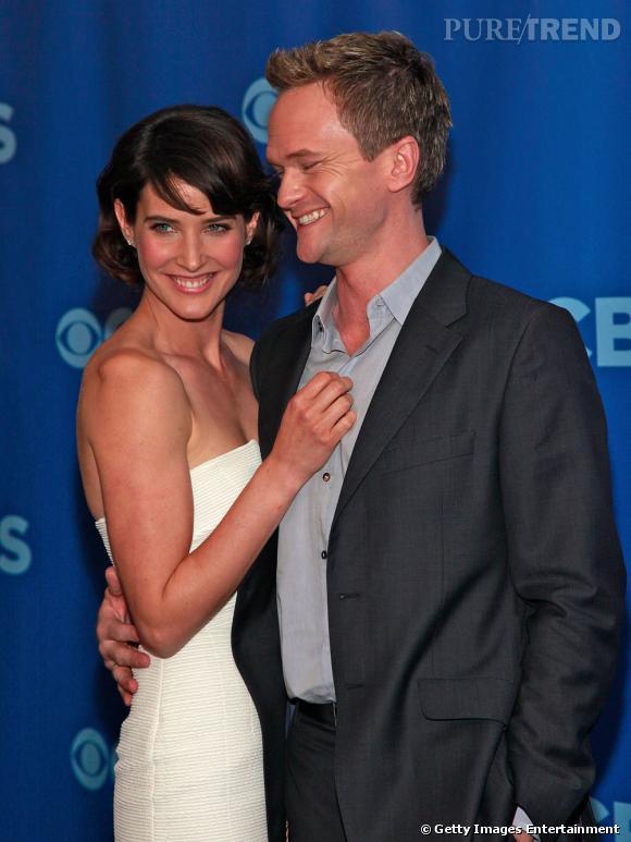 Cobie Smulders et Neil Patrick Harris, alias Barney Stinson.