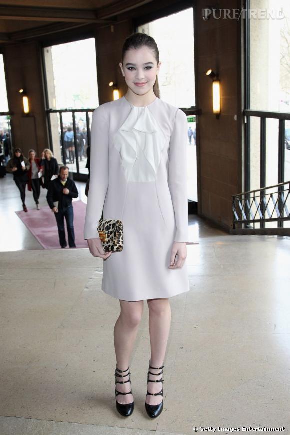 À 14 ans, Hailee Steifeld a décroché un contrat avec Miu Miu. Elle sera leur égérie pour la collection autome/hiver 2011.