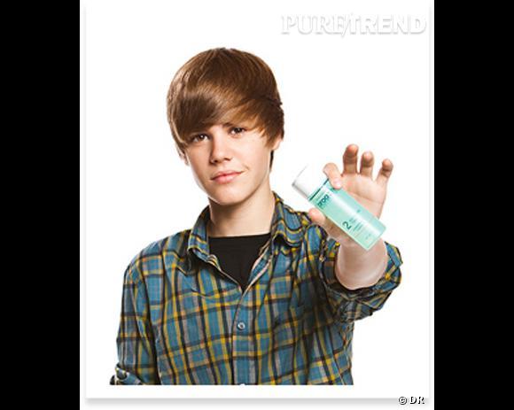 Justin Bieber, pour Pro-Activ.