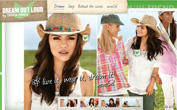 "Selena Gomez, pour ""KMart""."