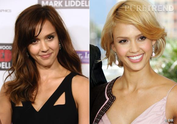 Stars : un jour brune, l'autre blonde
