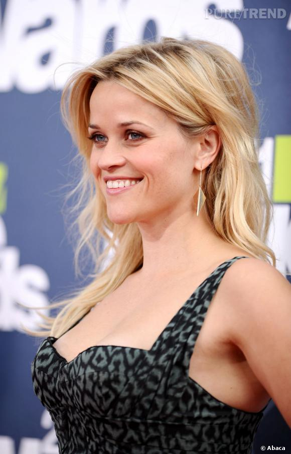 Reese Witherspoon aux MTV Movie Awards, à Los Angeles.