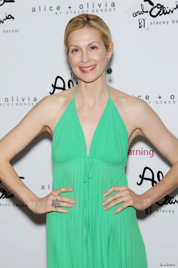 Kelly Rutherford lors d'une soirée de charité à New York.