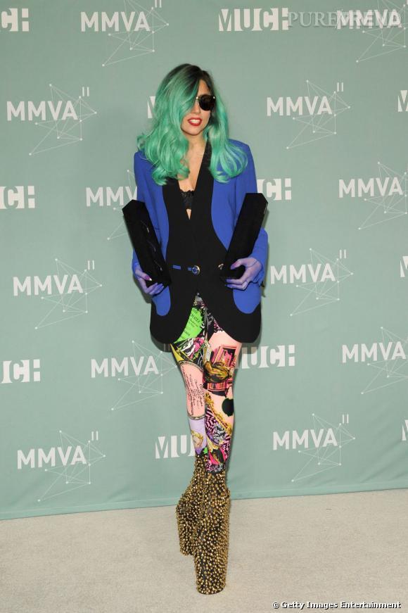 Lady Gaga, fidèle à elle-même.