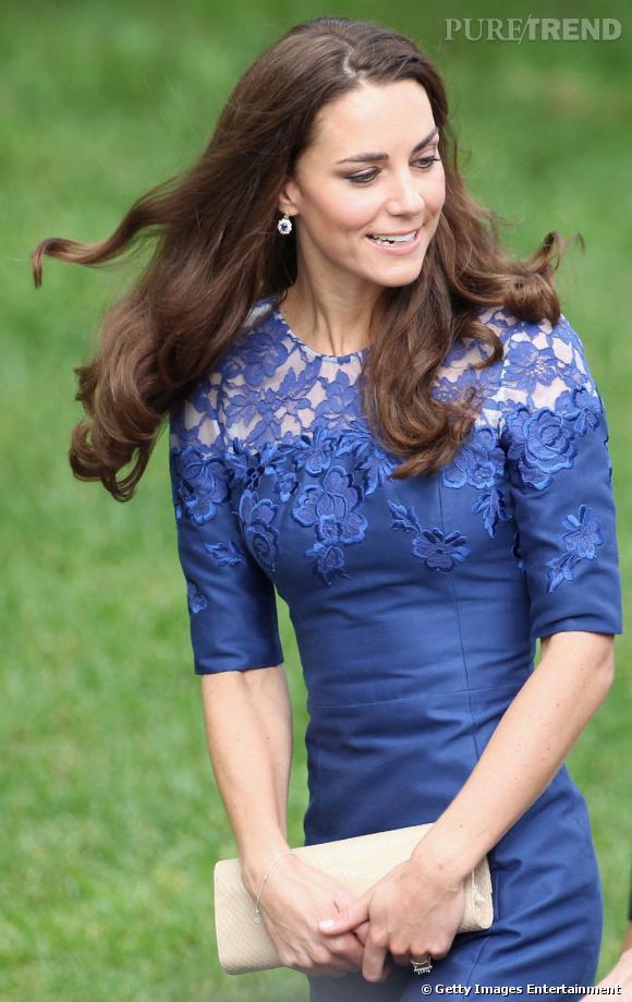 Kate Middleton lors d'une messe sur une frégate au Canada.