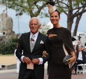 Les chapeaux du mariage monégasque  Nom : Roberta Armani