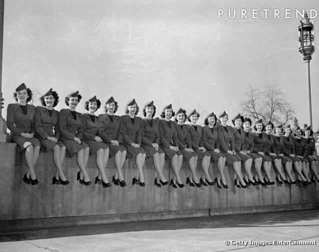 La fin de la seconde guerre mondiale les uniformes se font plus