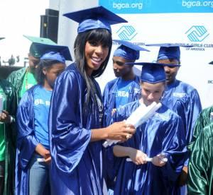 Kelly Rowland, jeune diplomée