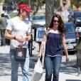 Loin de la Grosse Pomme, c'est près de Beverly Hills que l'actrice a élu domicile, afin de profiter un maximum du soleil.