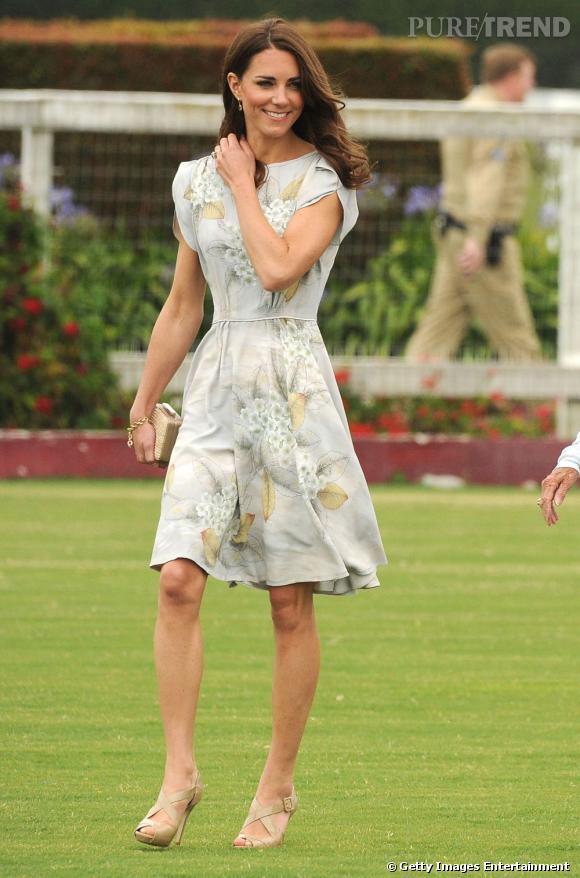 Londres, nouvelle capitale de la mode en partie grâce à Kate Middleton, le prodige des tendances chic.