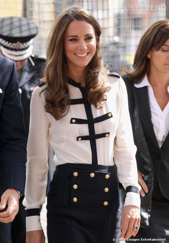 Kate Middleton en Alexander McQueen