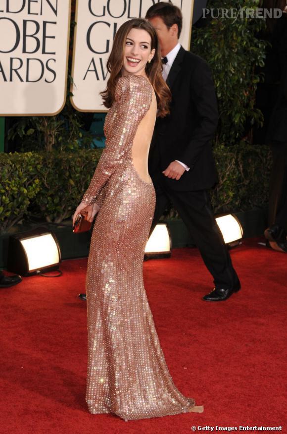 Une star est née. En Armani Privé pour les Golden Globes, la star confirme qu'elle joue enfin dans la cour des grands.