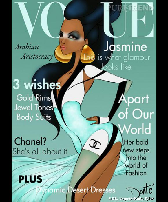 Jasmine quant à elle a choisi la robe Chanel et les boucles d'oreilles oversize pour un relooking parfaitement branché.
