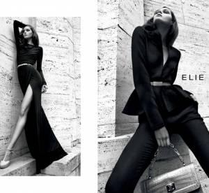 Elie Saab, une feminite en noir et blanc