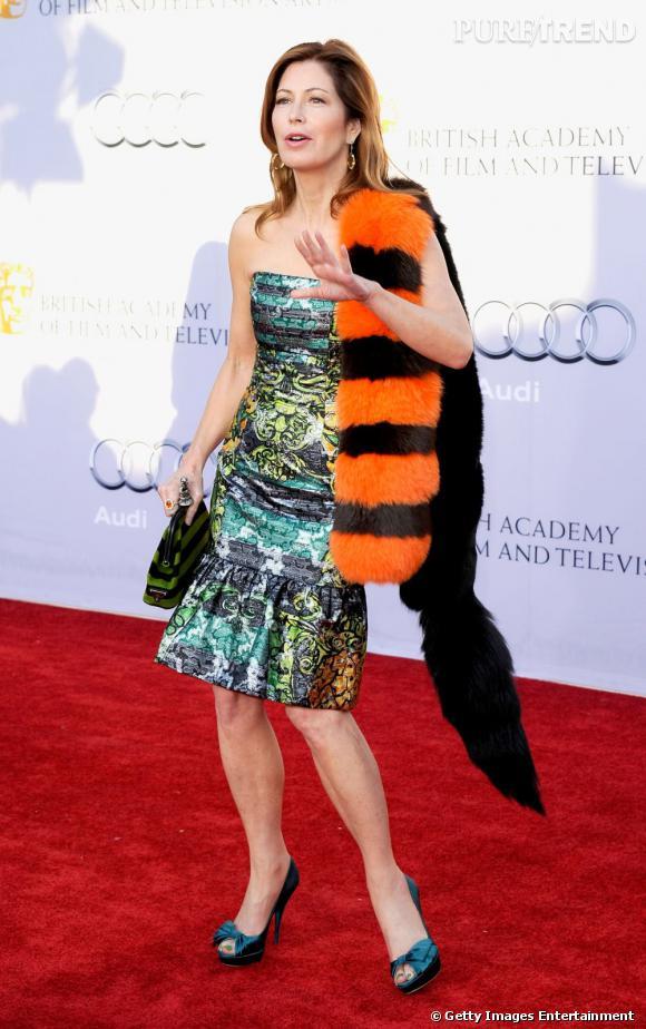 Dana Delany, et sa bête poilue sur le dos, n'auront pas fait sensation dans les magazines de mode.