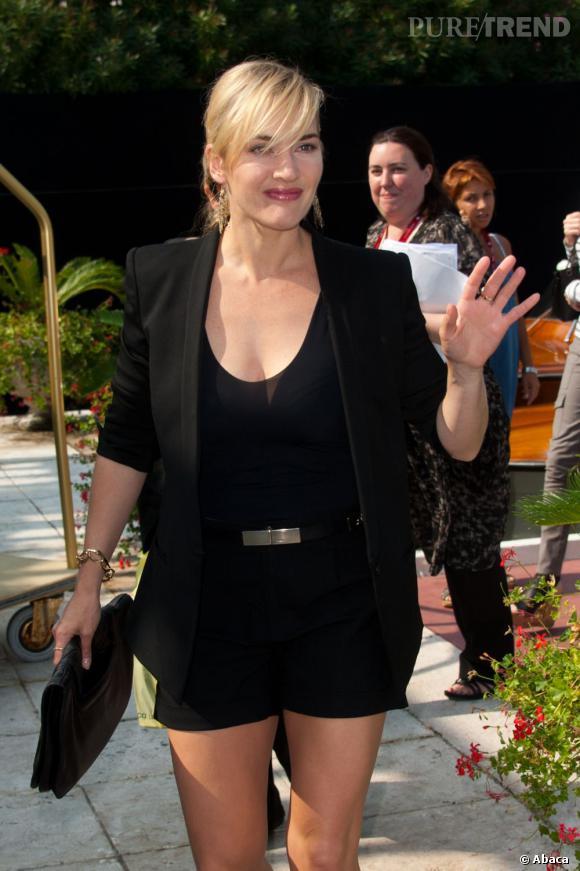 Kate Winslet à la Mostra de Venise.