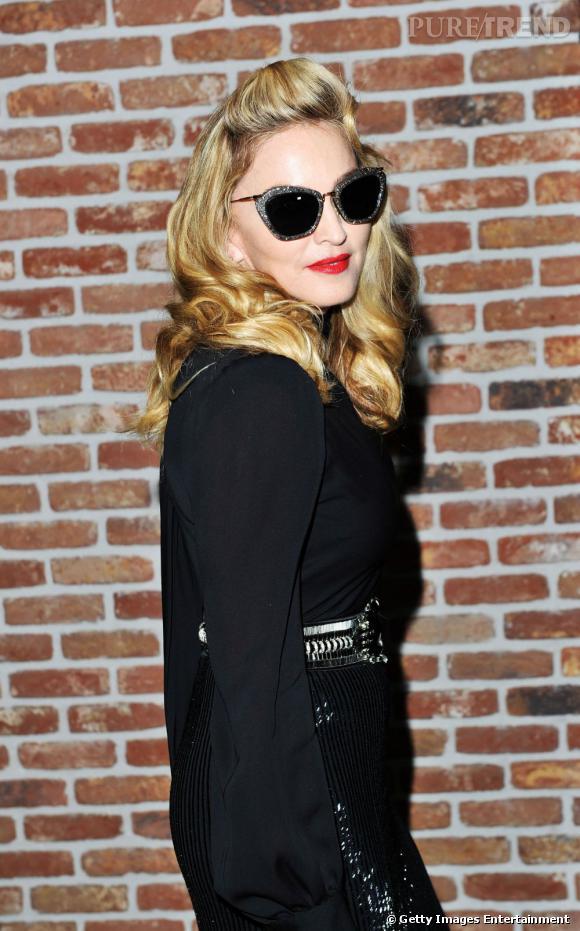 Madonna lors de la soirée des Gucci Awards for Women in Cinema durant la Mostra de Venise.