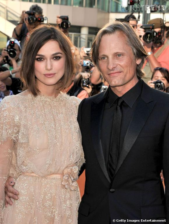 "Keira Knightley et Viggo Mortensen à la première du film ""A Dangerous Method"" au Festival du Film International de Toronto."